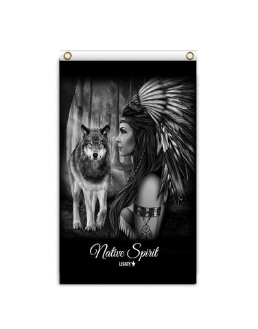 Native Spirit Banner