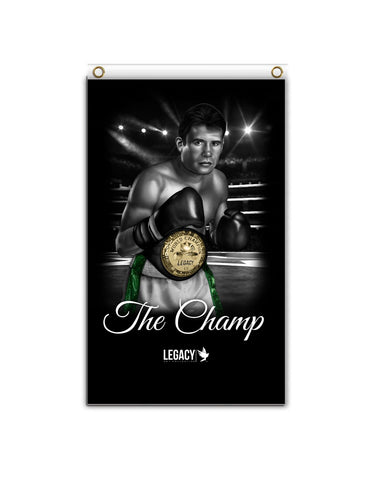 "The Champ ""Chavez"" Banner"