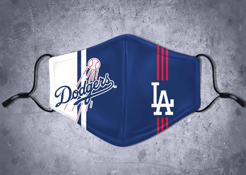 Dodgers LA -Face Mask