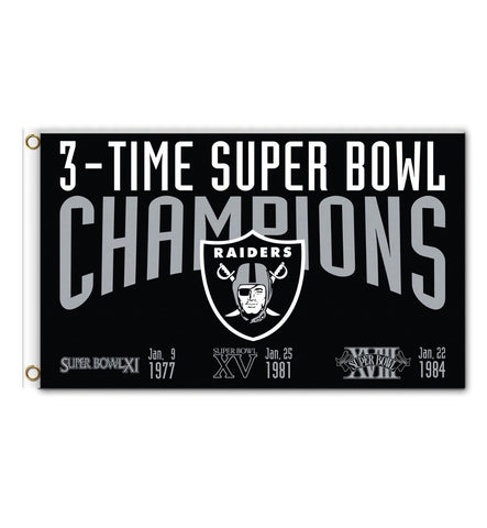 Raiders Super Bowl Banner