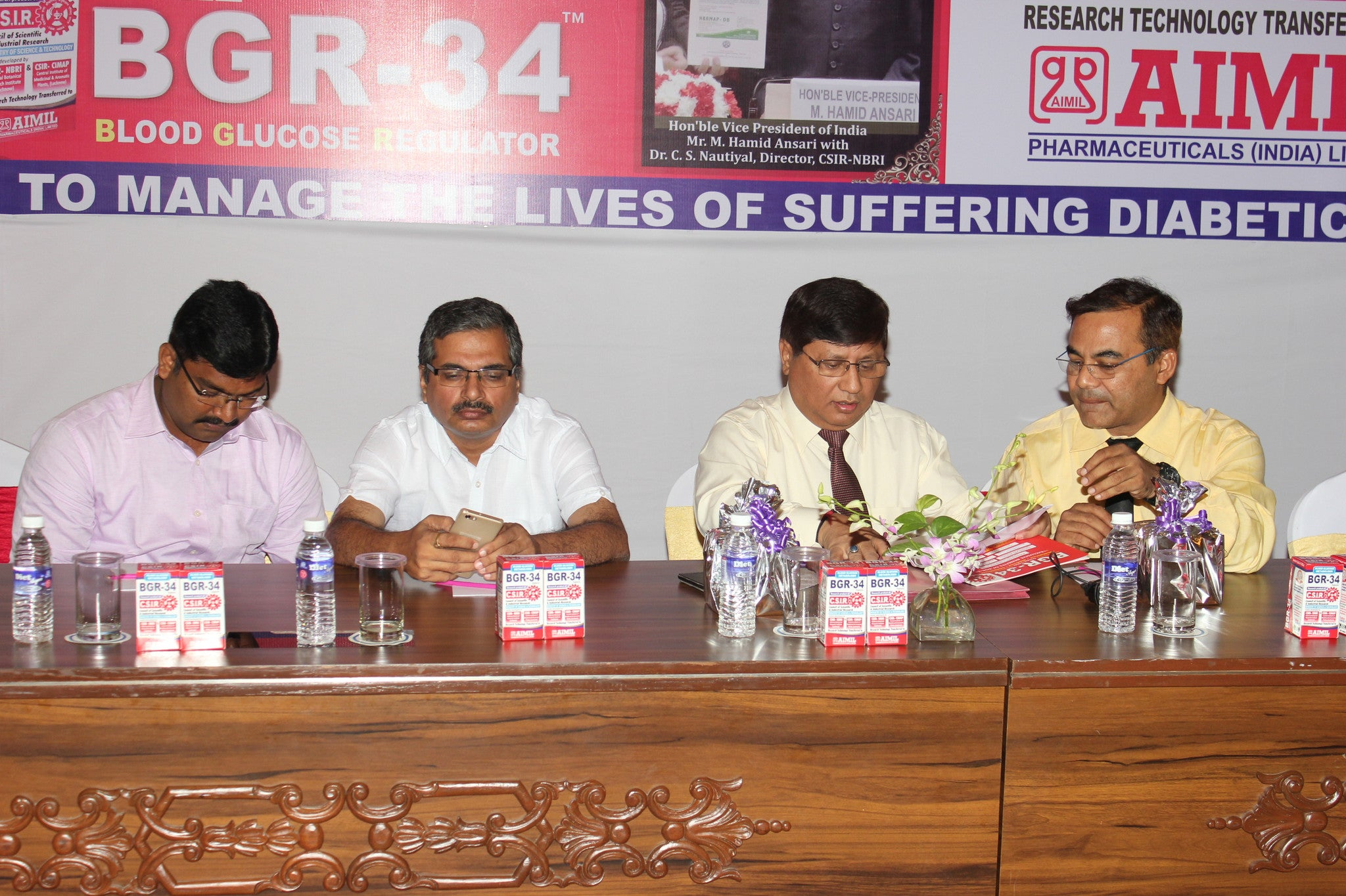 CSIR launches ayurvedic anti-diabetic drug BGR-34 in Siliguri