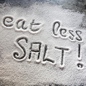Excessive amounts of salt can easily lead to gaining on blood pressure