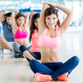Exercising on a regular basis helps reduce body fat