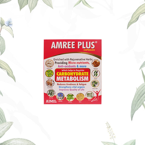 Amree Plus Capsules 60's