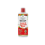 DEEP CLEAN ANTI MICROBIAL FRUITS & VEGETABLE WASH (500 ML EACH)