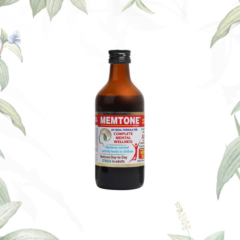 Memtone Syrup 200ml (Stock Clearance Sale)