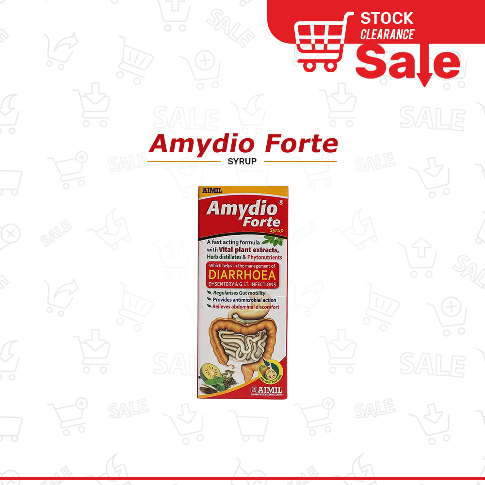 Amydio Forte Syrup 100ml (Stock Clearance Sale)