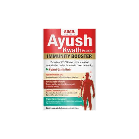 AIMIL Ayush Kwath Powder (Buy 2 Get 1 Free)