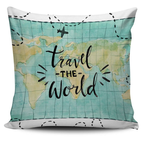 Travel the World Pillow - UYL Online Store