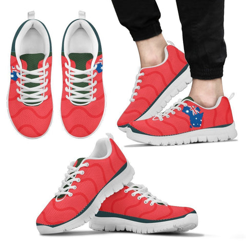 Red Map Sneakers - UYL Online Store