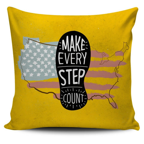 Make Every Step Count Pillow - UYL Online Store