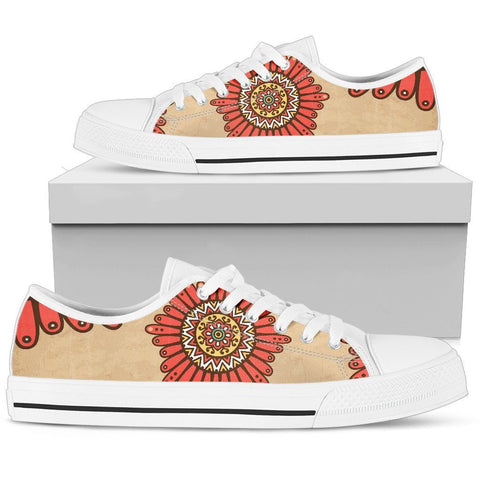 Festive Mandala Women's Low Top Shoes - UYL Online Store