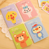 Rabbit Bear Mini Pocket Cute Animal Notebook Planner - UYL Online Store