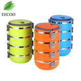 Portable Food Container Thermal  Lunch Box Picnic Container