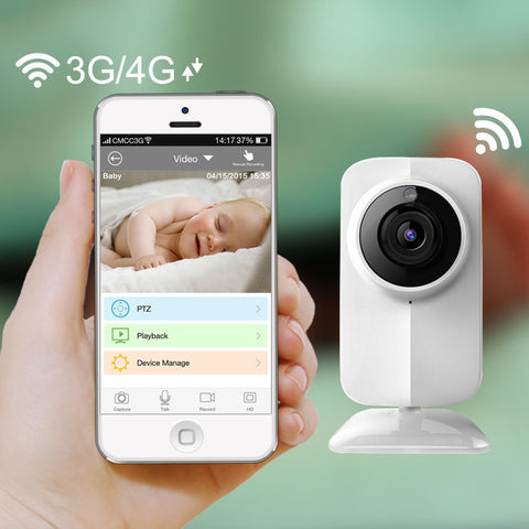 Wireless Wifi Baby Monitor Video 720P IP Camera Baby Eletronic support Night Vision TF slot for iPhone Android PC
