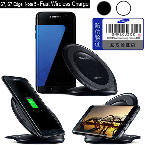 Wireless Charging Stand For Samsung Galaxy S7 S7 Edge Efficiency Charger For Samsung S7 S7 Edge