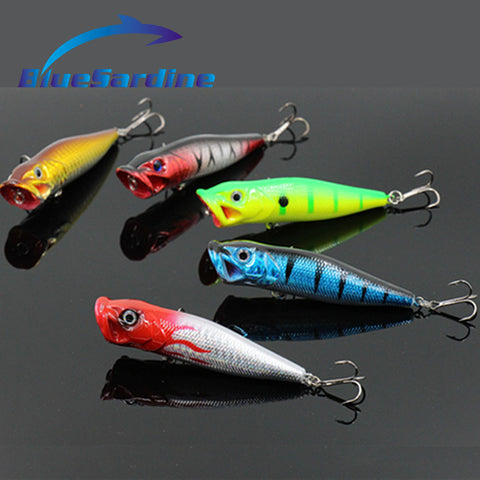 Popper Fishing Lures Hard Bait Top Water Fishing