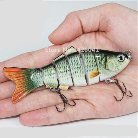 Fishing Wobblers Lifelike Fishing Lure - 3 Pieces