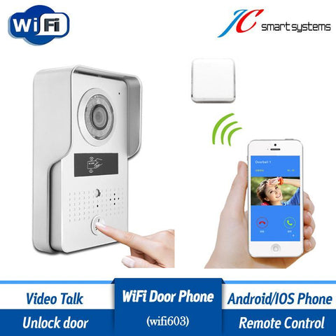 ACTOP Wireless Doorbell Interfone with RFID Card Reader - UYL Online Store