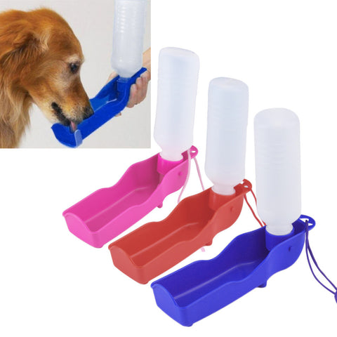 Potable Pet Dog Cat Water Feeding Drink Bottle Dispenser