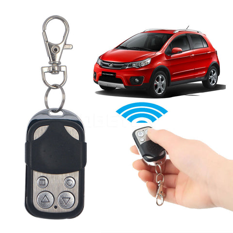 Wireless Universal Garage Remote Control Duplicate Key Fob 433MHZ Cloning Gate Garage Door
