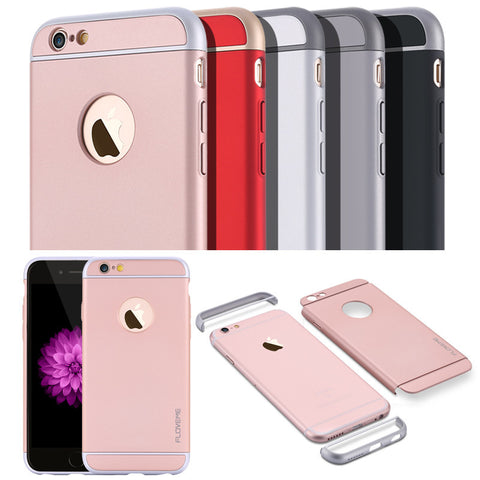 Slim Hard Plastic Case For iPhone