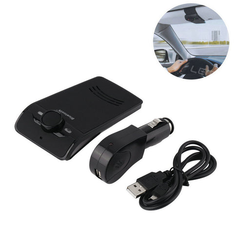 Wireless Bluetooth Hands-free Car Kit Speakerphones for All Cell Phones