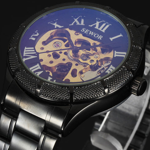 Sewor Classic Skeleton Men's Watch - UYL Online Store