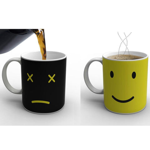 Heat Changing Ceramic Color Coffee Mug - UYL Online Store