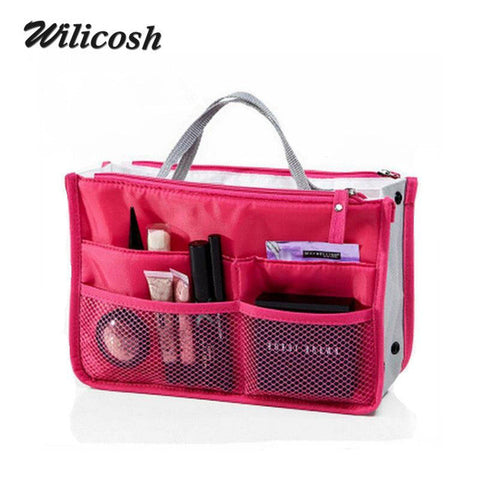 Multifunction Nylon Makeup Cosmetic Toiletry Organizer Travel Bags - UYL Online Store