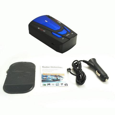 Anti Radar Detector 360 Degree V7 For Car Speed Limited Radar Detector