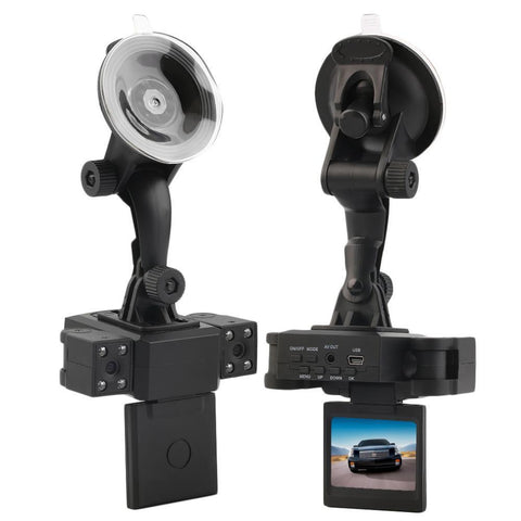 Camcorder Car DVR (HD 720P) with Dual Camera Dash Cam