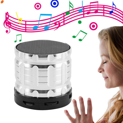 Mini Wireless Bluetooth Stereo Bass Speaker with TF Card - UYL Online Store