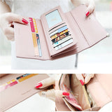 Quality Leather Fashion Long Wallet for Women - UYL Online Store
