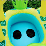 Piscine Baby Swimming Float Turtle Boat
