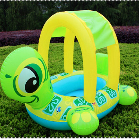 Piscine Baby Swimming Float Turtle Boat - UYL Online Store