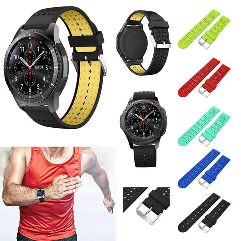 Silicone Replacement Wristband for Samsung Gear S3 Frontier