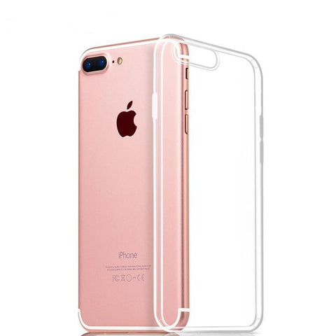 Clear TPU Phone Case for iPhone 7 7 Plus 6 6s Plus 5 5s se - UYL Online Store