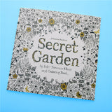 Secret Garden English Edition Coloring Book For Children and Adult - UYL Online Store