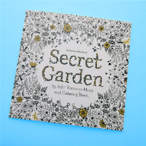 Secret Garden English Edition Coloring Book For Children and Adult