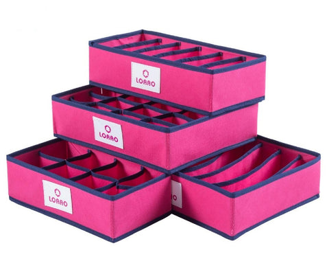Foldable Storage Box Home Organizer 4 PCS - UYL Online Store