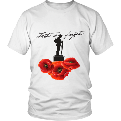Lest We Forget Monument Shirt