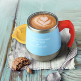 Stainless Steel Anti-Dust  Candy Color Coffee Cup - UYL Online Store