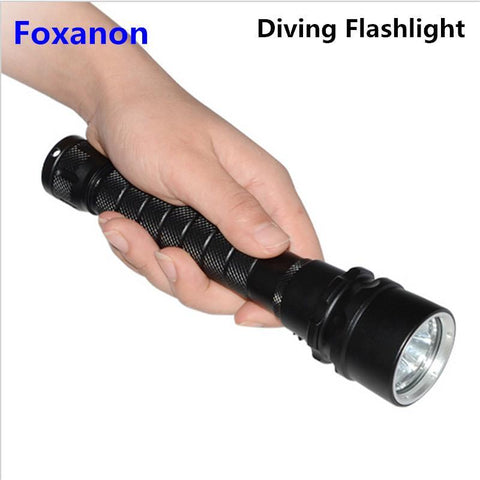 Diving Flashlight IP68 Waterproof- 3 LEDs Torch Light For Underwater Lighting - UYL Online Store