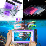 Waterproof Bag Pouch Phone Case For Apple iPhone 6 6S Plus 5S 5c SE For Samsung S6 Edge S7 Edge S5 P8 For LG Nexus 5