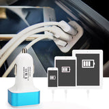 Universal USB Car Charger 3 Port Car-charger Adapter Socket