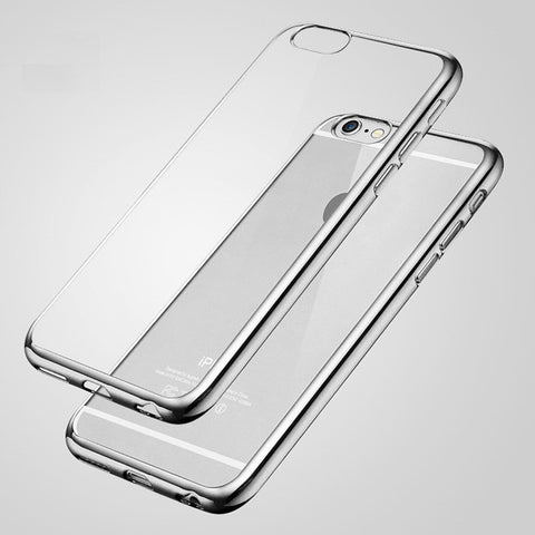Silicon Phone Case For Apple iPhone 4 4s 5 5S 6 6S Plus
