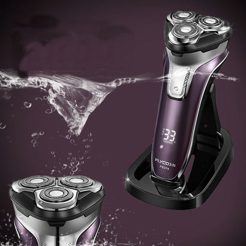 Rechargeable Electric Shaver With Led Light and 3D Floating Head - UYL Online Store