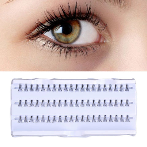 Natural Lash Individual False Eyelash - 60pcs/Set