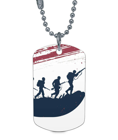 Faded Banner Dog Tag - UYL Online Store